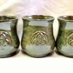 Cetlic Mead Mugs Trinity Design