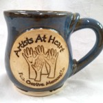 Custom Artists At Heart drinkware